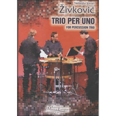 ME1013 TRIO PER UNO FOR PERCUSSION TRIO / コマキ通商